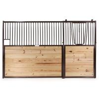 Wholesale Luxury European Horse Stalls With Sliding Doors Solid / Grilled Divider from china suppliers