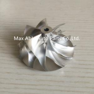 GT15-25 50.2x65mm 6+6 Blades 702549-0008HF V1 billet turbocharger compressor wheel for Toy