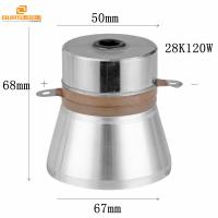 Wholesale Ultrasonic Cleaning Transducer Ultrasonic Vibration Transducer 28KHZ120W driver with ultrasonic generator from china suppliers