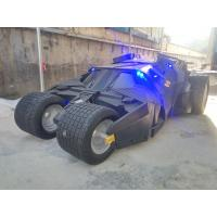 Buy cheap event party deco batman's car model carmobile as decoration statue in shop/ mall from wholesalers