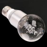 Wholesale 3W E27 16 Color Changing Flash RGB LED Crystal Light Bulb with  Remote Control from china suppliers