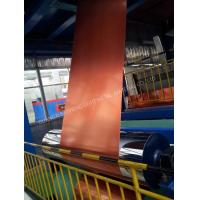 Wholesale Glossy Surface Color Coated Aluminum Coil Abrasion Resistance High Flexibility from china suppliers