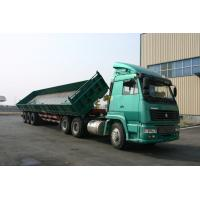 Wholesale  3 Side Dump Trailer with BPW & SAF Air suspension system from china suppliers
