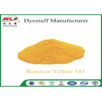 Wholesale C I Reactive Yellow 181 Cotton Dyeing With Reactive Dyes Powder Fabric Dye from china suppliers