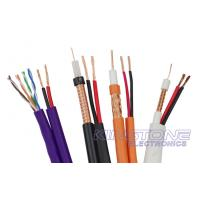 75 Ohm ETL CM RG59/U CCTV Coaxial Cable 20 AWG BC + 18 AWG CCA Power Siamese Cable