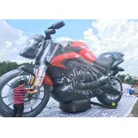 China PVC Custom Advertising Inflatables Motorbike Air Inflated Character Balloon for Decoration on sale