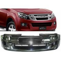 Wholesale ISUZU D-MAX 2012 2013 2014 2015 OE Style Chromed Front Grille with Red Letters from china suppliers