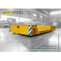 Wholesale Cross Bay Material Transfer Cart , Motorized Floor Slab Material Handling Trolley from china suppliers