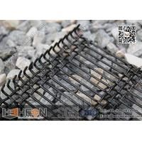 Wholesale Slot Hole Woven Wire Screen | Vibrating Screen Mesh with Hook | Mining Sieving Screen from china suppliers
