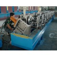 Wholesale Steel / Aluminum / Copper Mobile Seamless Gutter Machine For Rainwater Gutter Profiles from china suppliers