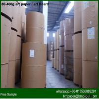 China Promotional price two side coated 157gsm Art Paper Manufacturers in China on sale