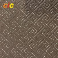 Buy cheap Various Designs Embroidery PU PVC Leather With High Density Foam For Car Floor from wholesalers