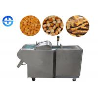 China Automatic stainless steel bread cutting machine, crouton cutting machine on sale