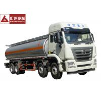 Wholesale Sinotruk Hohan Fuel Oil Truck  6x4  Wheel Spec  371 Horsepower  300L Tank from china suppliers