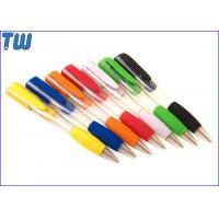 China 2 IN 1 Plastic Ball Pen Design USB Flash Drive Separately Pen Drive on sale