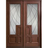 Wholesale 100% natural wooden door from china suppliers