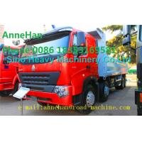 Buy cheap A7 Heavy Duty Dump Truck 8x4 380hp EUROIII Front lift HYVA 169 Cylinder from Wholesalers