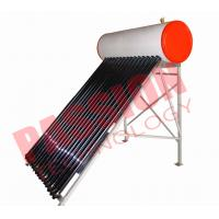 Wholesale Flat Roof Thermosiphon Solar Water Heater Copper Pipe Anti Corrosion Material from china suppliers