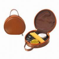 Wholesale Shoe shine kit, made of PU from china suppliers