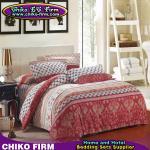 CKKB001-CKKB005 32S Colorful 100% Cotton Brushed Soft Bedding Sets