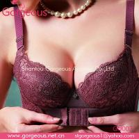 Wholesale Pretty body shape cotton front hook bra from china suppliers