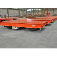Wholesale Flat Electric Transfer Cart 20 Ton For Steel Plant OEM & ODM Support from china suppliers