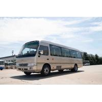 Wholesale Front Cummins Engine Toyota Costa Bus , 7.7M Toyota Minibus 31 Seats Capacity from china suppliers