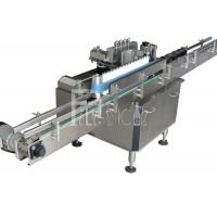 China Wine Beer bottle Cold Paper wet glue labeling / labeler machine / equipment / line / plant / system / unit on sale