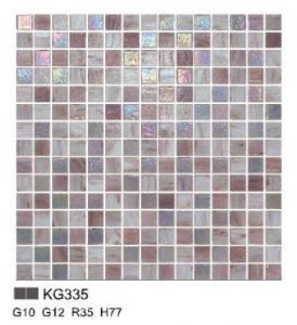 KG series glass mosaic for kitchen decoration KG335