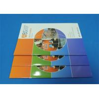 Wholesale Full Color Saddle Stitch Book Printing Service With Perfect Binding A6 from china suppliers