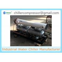 Wholesale Remote Control 0 deg C Copeland Compressor Seawater Cooled Chiller Maldives from china suppliers