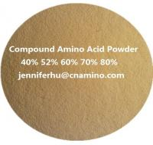 Quality Compound Amino Acids Powder 80% 70% 60% 52% 50% 45% 40% Organic Fertilizer, 14-0 for sale