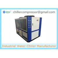 Wholesale Medical Process Cooling 40HP 30TR 100KW Air Cooled Water Chiller from china suppliers