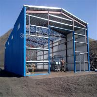 Wholesale Steel Structure Hangar Warehouse Building with Best Design and competitive cost from china suppliers