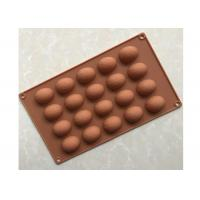 Buy cheap BPA Free Silicone Chocolate Molds , 20 Cavities Chocolate Ball Mold from wholesalers