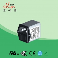 Wholesale Yanbixin AC Socket IEC Inline EMI Filter With Switch Holder 10A 120V 250VAC from china suppliers