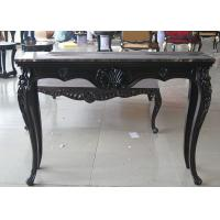 China Black Wooden Consoles Table For Modern Hotel Luxury Living Room Furniture on sale
