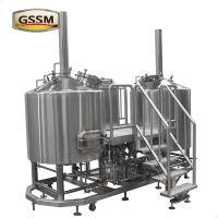 Wholesale Steam Heated 50 BBL Brewhouse , Beer Brewing Eequipment For Pub / Micro Breweries from china suppliers