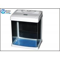 Wholesale White Luxury Mini Table Glass Aquariums With Aquarium LED light For Home from china suppliers