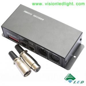 China DMX 512 LED Controller (DMX512-3CH-12V-24V) on sale