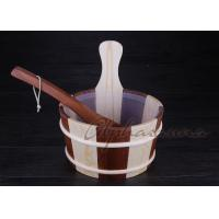 Buy cheap Wooden bucket thermometer , lightweight residential sauna kits from Wholesalers