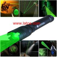 Wholesale Free Shipping Green Laser Designator Super 50mw Power Adjustable Beam Laser Torch Flashlight from china suppliers