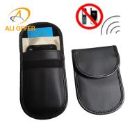 Wholesale GPS Anti-Spy Anti-Radiation Avoid RFID Scaning Protection Pouch Case,Mobile Phone Signal Shielding Blocking Jammer Bag from china suppliers