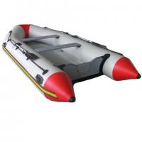 Wholesale aluminum floor with console catamaran inflatable speed boat from china suppliers