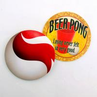 Wholesale Eco Friendly Paper Promotional Drink Coasters Custom Shaped High Temperature Resistant from china suppliers