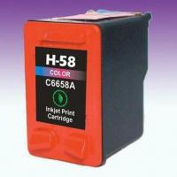 Wholesale Remanufactured Printer Cartridge C6658AN, Suitable for HP Deskjet Printer from china suppliers
