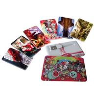 China Color Printting Credit Card Size Drive on sale