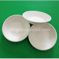 Wholesale Biodegradable Disposable Sugarcane Pulp Paper Bowl, Food Grade, 460ml from china suppliers