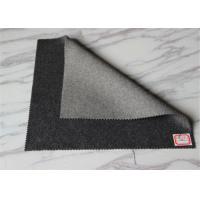 Wholesale Light / Medium Grey Coating Wool Fabric Overcoat Winter Smooth Warm In Stock from china suppliers