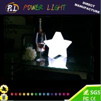 Wholesale Decorative Glowing Christmas Star Color Changing LED Lamp from china suppliers
